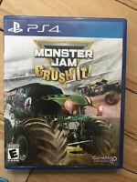 Monster Jam: Crush It (Sony PlayStation 4, 2016) PS4
