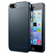 SPIGEN SGP case slim ultra fit s matte hard case pour iphone 5 metal slate