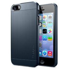 Spigen SGP Case Slim Fit S Opaca Ultra Custodia Rigida per iPhone 5 Metal Slate