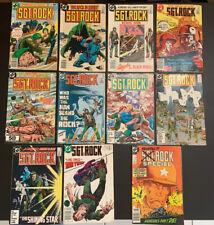 Sgt Rock DC Comics Lot #332, #399, #405, #408, #409, #411-414, #421 & Special