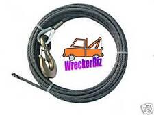 """3/8"""" x 50' WINCH CABLE for WRECKER, ROLLBACK, TOW TRUCK, CRANE - fiber core"""