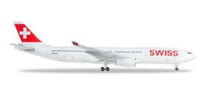 Herpa Swiss International Air Lines Airbus A330-300 1/500 523134-003