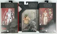Star Wars Black Series Bundle Action Figure First Order Jet Trooper Yoda Rey D-O