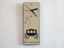 Cinderella's Carriage sei la mia Favola-Orologio da parete