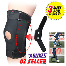 Double Metal Hinged Full Knee Support Brace Knee Protection Regular, Large & XL