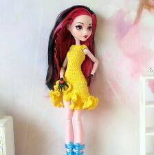Doll dress Monster High Ever after 1/6 crochet handmade apparel outfit 12-inch