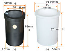 Induction Melting Furnace Graphite Crucible with Ceramic Shield