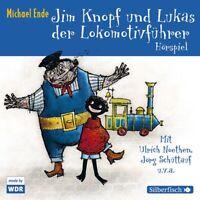 MICHAEL ENDE-JIM KNOPF UND LUKAS DER LOKOMOTIVFÜHRER (WDR HSP) HÖRBUCH 3 CD NEW