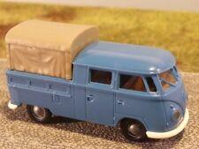 1/87 Brekina # 0505 VW T1 b Doka PL blau