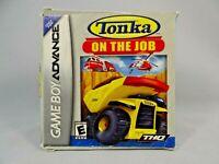 Tonka: On the Job (Nintendo Game Boy Advance, 2006)