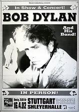 Original Konzertplakat   Bob Dylan  16.4.2002 Stuttgart Schleyerhalle