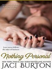 Nothing Personal by Jaci Burton (2014, CD, Unabridged)
