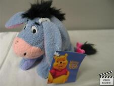 Eeyore - Winnie the Pooh 7 inch mini beanbag plush; Applause, New with tag