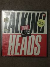 Talking Heads - True Stories - Factory SEALED 1986 US 1st Press Hype Stickers