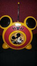 Rarität - Walt Disney Mickey Mouse CD Player mit FM/AM Radio - top Zustand Kult