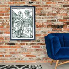 Albrecht Durer - Duerer tod und landsknecht Wall Art Poster Print
