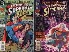 Superman #514 + #518   (C1.568)
