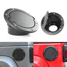Fuel Filler Door Cover Gas Tank Cap 2/4 Door for 2007-2016 Jeep Wrangler JK