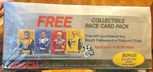 NEW UNOPEN CASE 2002 NASCAR Press Pass Bosch 100-Year RACING cards FREE SHIPPING