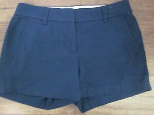 Re-imagined by J.Crew Chino Shorts Navy Blue Women's Size 0 NEW NWOT