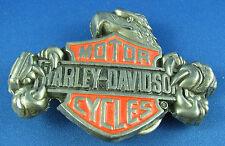 HARLEY DAVIDSON  BELT BUCKLE 1993 H 545 solid brass made Taiwan