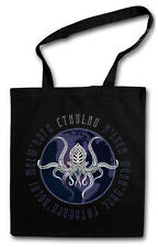 Cthulhu J Planet hipster Tote Bag Lovecraft Miskatonic Wars sustancia bolsa