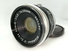 【Exc+++】 Olympus F.Zuiko Auto S 38mm f/1.8 Manual Focus Lens for Pen F FT JAPAN