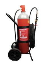 Heimlich 10kg Kohlendioxid Feuerlöscher fahrbar EN1866 CO2 Feuerlöscher C10
