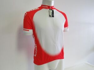 Set of 2 Verge Men's XS Dots Red/White Short Sleeve Cycling Jersey