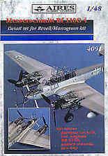 AIRES 1/48 Messerschmitt Bf110 G-4 Detail set for Revell/Monogram Kit # 4091