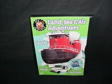 Real Wheels Land Air And Sea Adventures DVD Video Movie