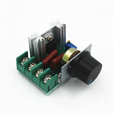 1Stk  220V 2000W Speed Controller SCR Voltage Regulator Dimming Dimmers Thermost