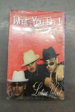 Sealed Rare OOP Latino Velvet What You Do Cassette Tape Single RAP