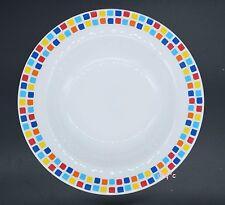 24x Quality Carlisle Melamine Spanish Tile Pasta Cereal Soup Bowls 8oz plates