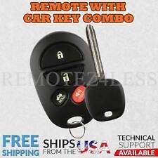 Keyless Entry Remote for 2004 2005 2006 2007 2008 Toyota Solara Fob Car Key