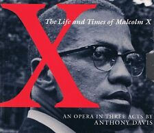 ██ OPER ║ Anthony Davis (*1951) ║ X - THE LIFE AND TIMES OF MALCOLM X ║ 2CD