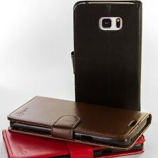 For Samsung Galaxy Note 5 Leather Case - Flip Folio Credit Card Wallet Pouch