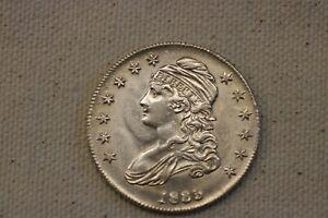 1835 50C -Capped Bust Half Dollar AU+++