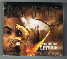 DON OMAR - KING OF KINGS - ARMAGEDDON EDITION - 2006 - 2 CDs + 1 DVD - NEW NEUF