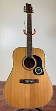 Washburn D10S Acoustic 6 String Guitar with Hard Case