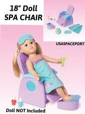 "My Life As Beauty Salon SPA CHAIR Outfit Set for 18"" American Girl Hair Stylist"