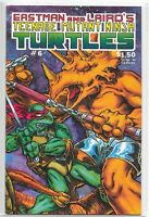 Teenage Mutant Ninja Turtles 6 Mirage 1st Print VERY RARE NM Eastman Laird TMNT