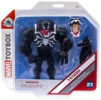Disney Toybox Marvel Venom Venomized Spider-Man Action Figure #21 New on Card