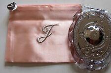 Jill Stuart Makeup Compact Mirror with Soft Pink Zipper Pouch
