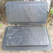 2 heavy duty plastic slate paver molds see more paver molds in my ebay store