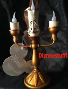 Disney Beauty And The Beast Lumiere Candle Light Up Tree Ornament