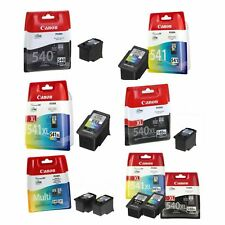 Genuine Canon PG-540 XL & CL-541 XL Ink Cartridges For Pixma MG2150 MG3150 Lot