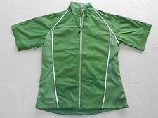 WOMENS green lightweight JACKET coat = SUNICE = SIZE small = WH57