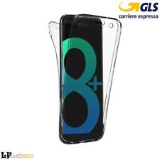 360 Ultra Slim Front Back Case Samsung Galaxy S8 Più Edge trasparente