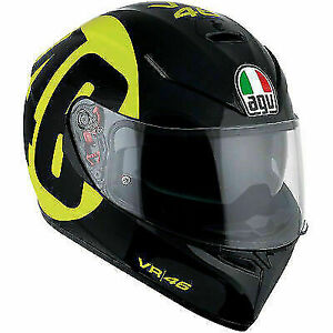 AGV K3 SV ROSSI BOLLO  MOTORCYCLE HELMET SIZE EXTRA LARGE 61/62